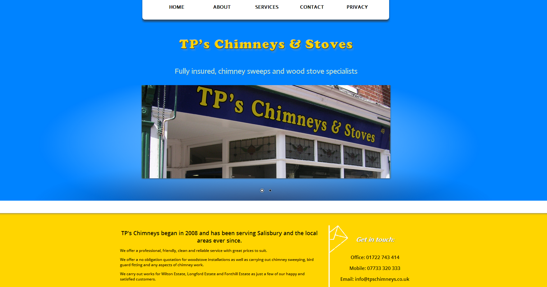 TPs Chimneys and Stoves