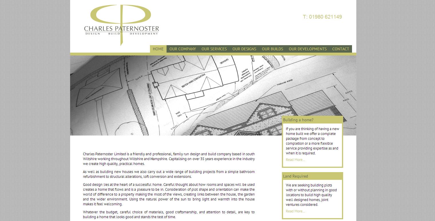 Charles Paternoster Ltd Website