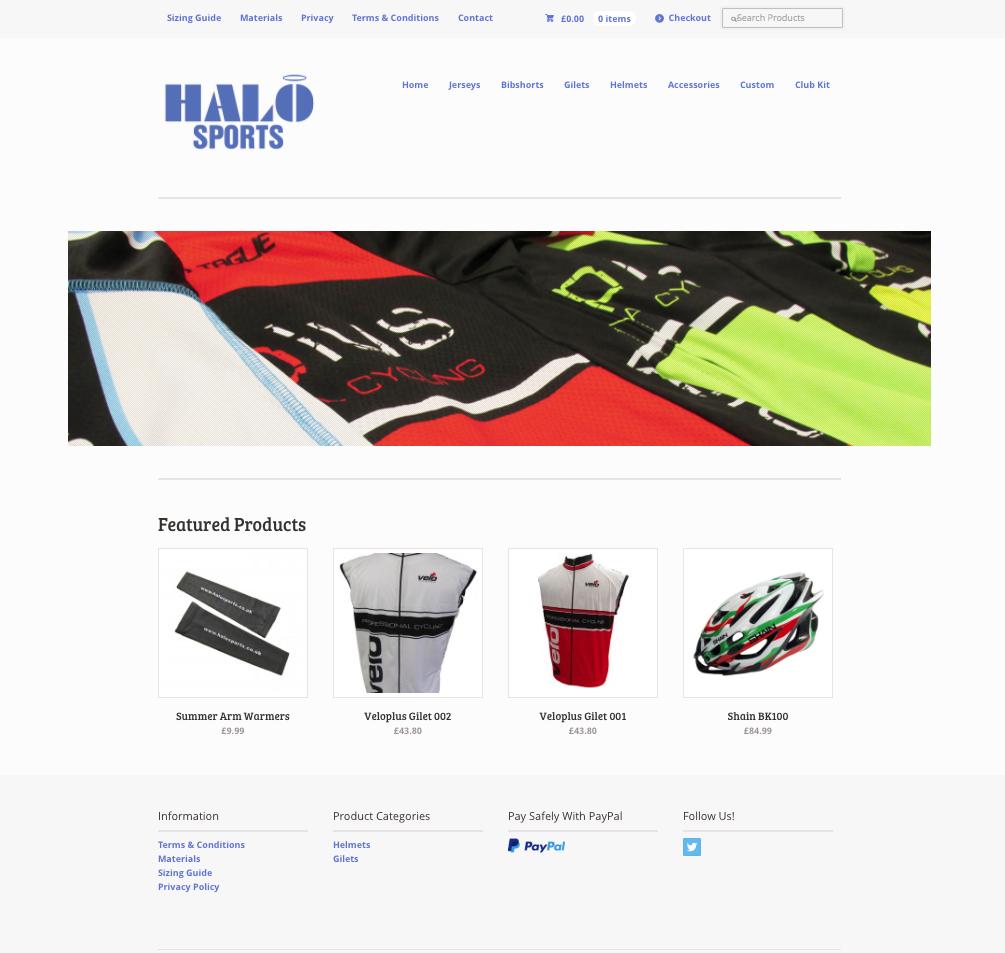 Halo Sports | Custom Sports Apparel